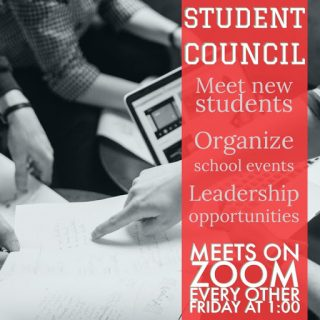 Online Student Council (Online Program) @ Zoom