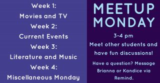 Meetup Mondays