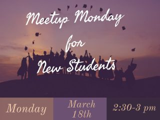 New Student Meetup