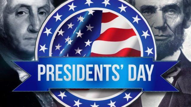 NO SCHOOL - Presidents' Day 4-Day Weekend